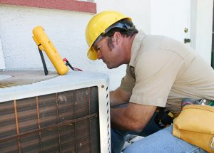 image of a worker doing an inspection